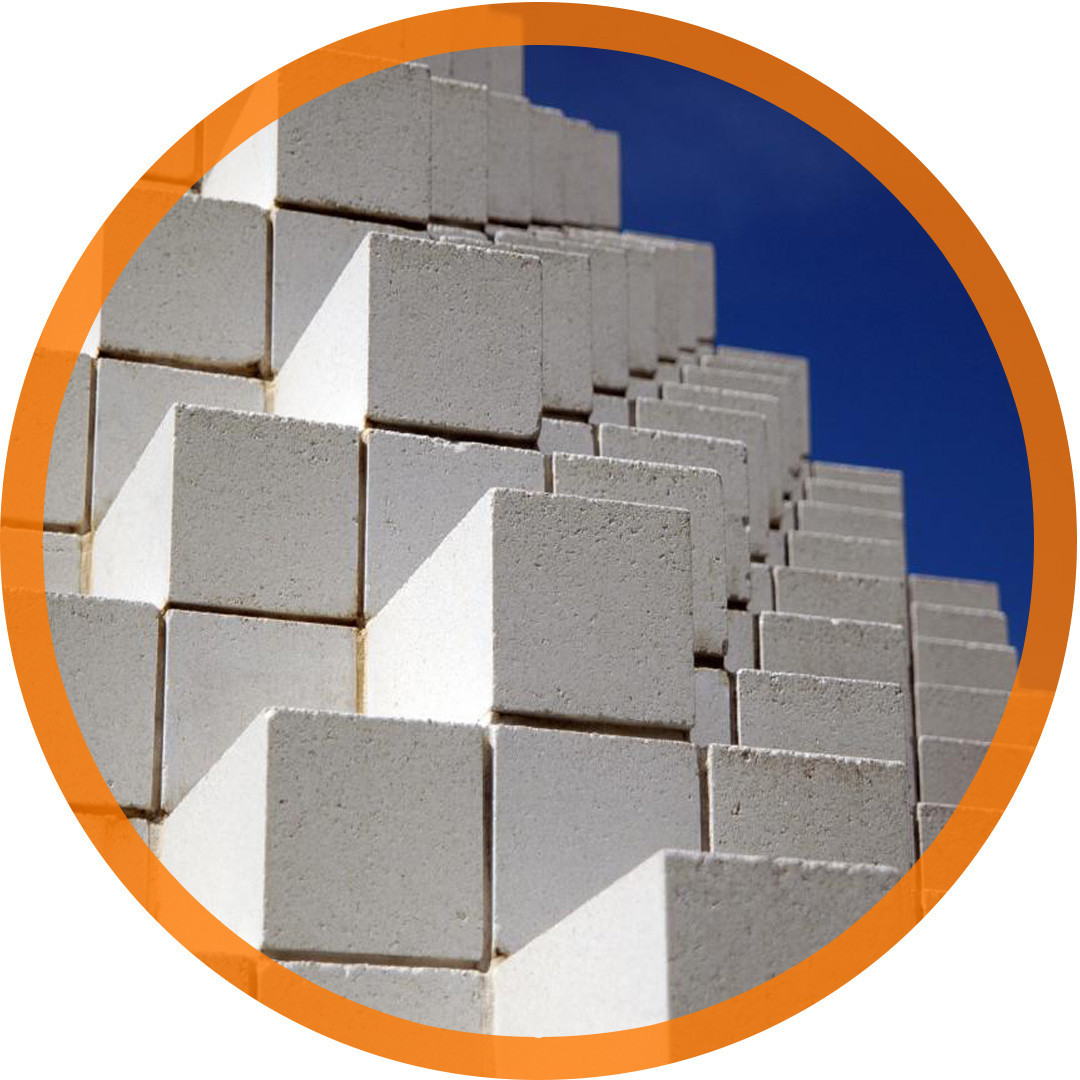 Газоблок ХСМ стеновой (600х200х250)