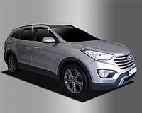Дефлектори вікон вітровики Hyundai Santa Fe 2012-