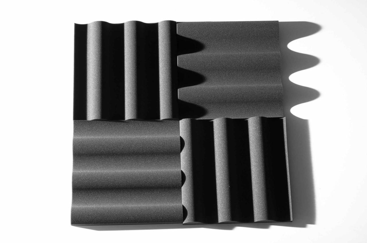 Акустическая панель Ecosound Volna XL из акустического поролона 50х50 см