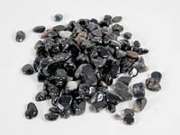 Натуральный камень крошка(Агат черный) (10гр.)