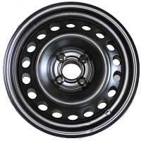 Стальные диски Кременчуг Daewoo W5.5 R14 PCD4x100 ET49 DIA56.6 черный