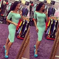 Платье женское Ариела мята , магазин платьев