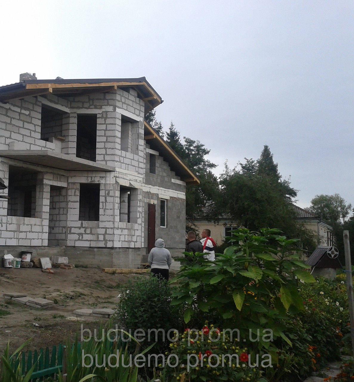 Будівництво будинків з газоблоків