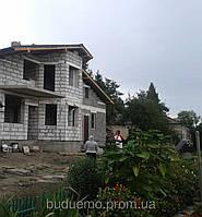 Будівництво будинків з газоблоків.