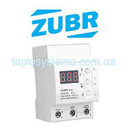 Реле контроля напряжения  ZUBR D40t  с термозащитой (DS Electronics Украина)