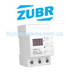 Реле контроля напряжения  ZUBR D40  (DS Electronics Украина)