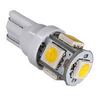 T10 5-SMD LED W5W лампочка автомобильная, фото 1