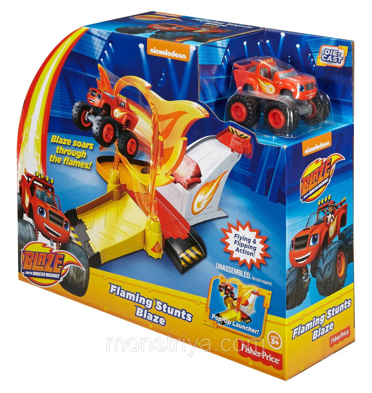 Трек Вспыш и чудо машинки Blaze and the Monster Machines