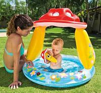 Детский надувной бассейн «Грибочек» 57114