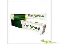 Травяная зубная паста Zee Herbal с Нимом, Мишваком и Мятой, 100 г. Известный защитник зубов и десен от болезни
