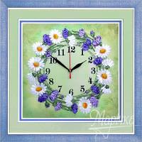 Часы. Солнечный веночек