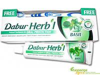 Зубная паста Дабур Базилик 150 гр. + зубная щётка в подарок!, Dabur Basil. Обеспечивает полную гигиену