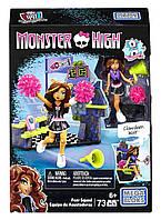 Конструктор Mega Bloks Monster High Клодин группа поддержки