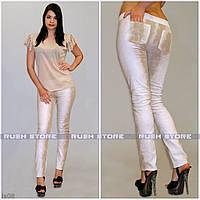 Женские брюки летние