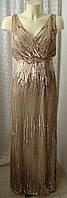 Платье вечернее в пол Adrianna Papell р.40-42 6665