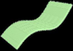 Мини матрас Top green