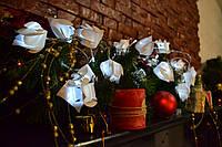Гирлянда из 20 тюпанов (40 лампочек) на батарейках 4 метра, фото 1