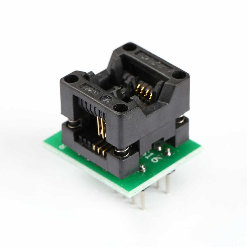SOP8-DIP8 адаптер для программатора 150mil