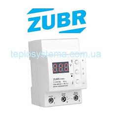 Реле контроля напряжения  ZUBR D50t  с термозащитой  (DS Electronics Украина)