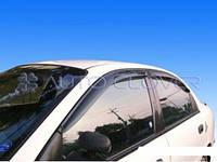 Дефлекторы окон ветровики Daewoo Lanos Sens