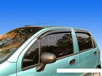 Дефлекторы окон ветровики Daewoo Matiz