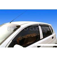 Дефлекторы окон ветровики Chevrolet Aveo 2002-2008 HB