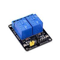 Arduino релейний модуль 2 канали
