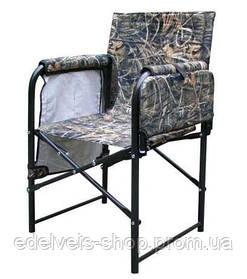 Стул-кресло с полкой и карманами для рыбалки.