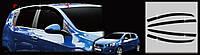Дефлекторы окон ветровики Chevrolet Aveo 2012- HB