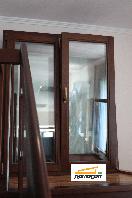 Скандинавское деревянное окно