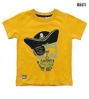 "Футболка ""Пират"" для мальчика. 80-86 см, фото 1"
