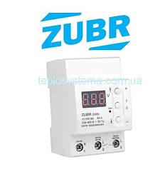 Реле контроля напряжения  ZUBR D63t  с термозащитой  (DS Electronics Украина)