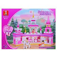 Конструктор Розовая мечта Замок М38-B0251, фото 1