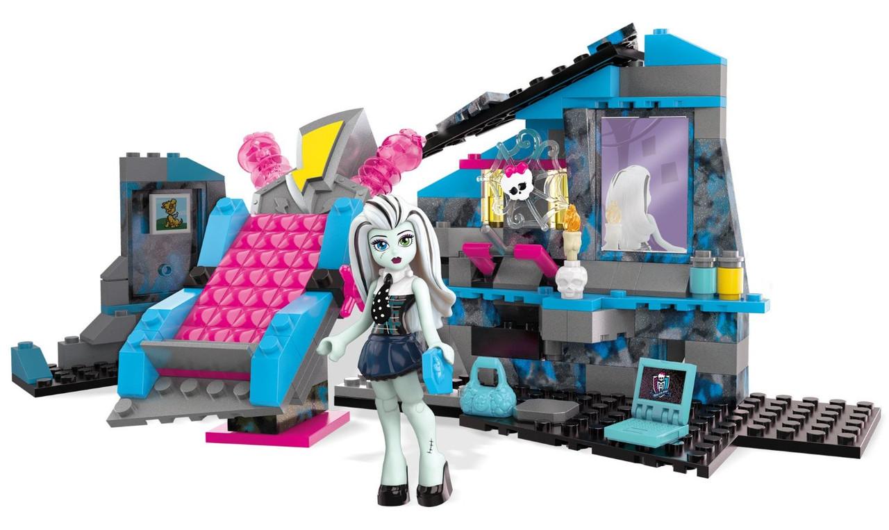 Конструктор Mega Bloks Monster High Электрификационная комната Фрэнки Штейн