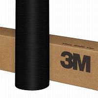 Пленка 3M 1080 BR212 Brushed Black Metallic 1.524 m, фото 1