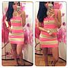 Яркий женский сарафан, платье