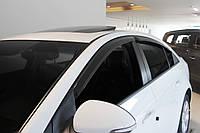 Дефлекторы окон ветровики Chevrolet Cruze sedan, фото 1