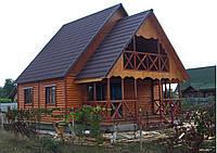 Домик 6.0m x 8.0m двухэтажный, фото 1