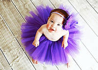 Пышная юбка пачка от 6-ти месяцев до 2х лет