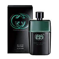 Мужская туалетная вода Gucci Guilty Black Pour Homme (сильный, яркий аромат для уверенных в себе мужчин)