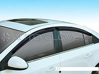 Дефлектори вікон вітровики Chevrolet Evanda