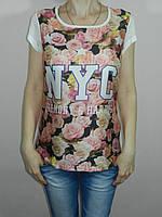 Женская футболка шелк S, M Cellar Турция