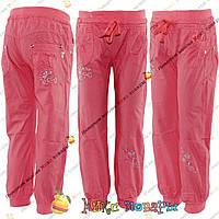 Не дорогие летние брюки для девочек с 3 до 8 лет (4289-4)