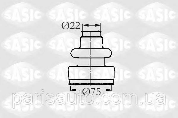 Пыльник полуоси  Citroen BX C15 XM Peugeot 205 305 306 309 405 605   SASIC 2933593