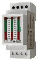 Вольтметр линейный трехфазный WN-723 380B 2S 190-240В (ВН-723) F&F