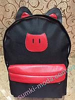 Рюкзак Кот кожзаменителем/Рюкзак для девочек(только оптом)Рюкзаки спортивный  городской спорт стильный, фото 1
