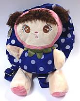 Рюкзак детский с мягкой игрушкой., фото 3