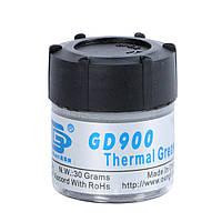 Термопаста GD900 термо-паста в баночке 30 грамм, фото 1