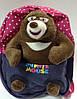 Рюкзак детский с мягкой игрушкой., фото 5