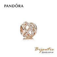 Pandora Шарм ГАЛАКТИКА 781388CZ PANDORA Rose Пандора оригинал